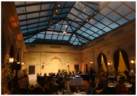 Reception at Columbus Museum of Art