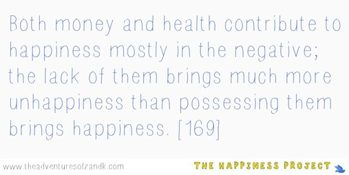 The Happiness Project Quote Chapter 7