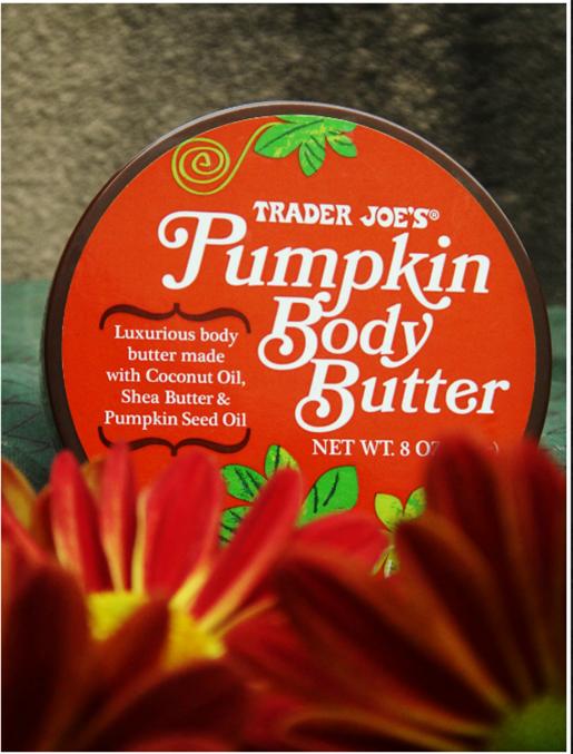 October Photo a Day Challenge Trader Joe's Pumpkin Body Butter