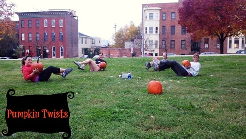 Carve your body not just your pumpkin workout