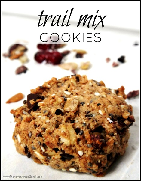 Oh She Glows Trail Mix Cookies from The Adventures of Z &