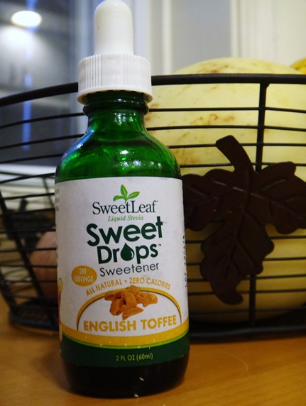 Sweet Leaf Liquid Stevia Sweet Drops Sweetener English Toffee Flavor