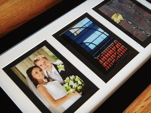 Bridal shower gift picture frame