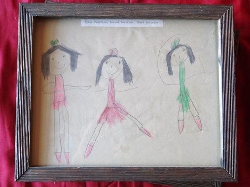 Ballet drawing