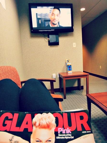 Johns Hopkins GI Department Breath Test Waiting Room