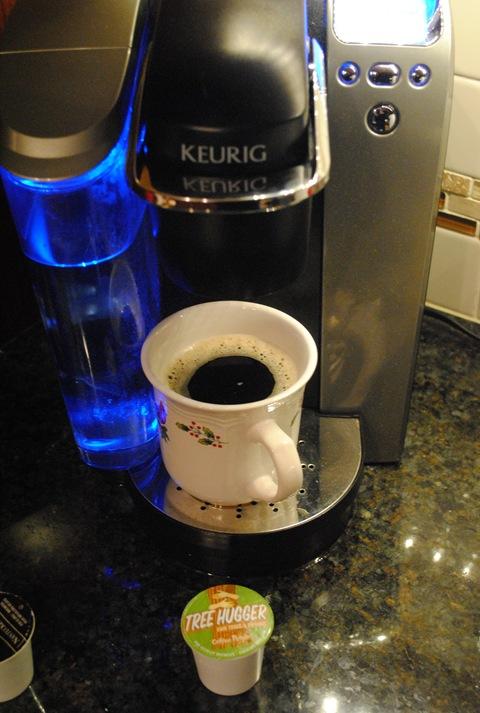K cup machine