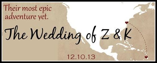 The Wedding of Z & K