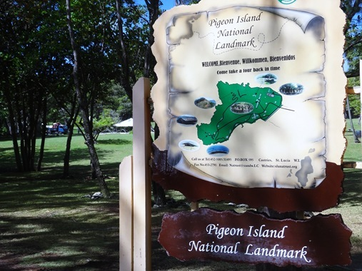 Pigeon Island National Landmark St. Lucia
