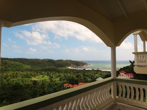 View from Zamaca Bed and Breakfast Micoud St. Lucia