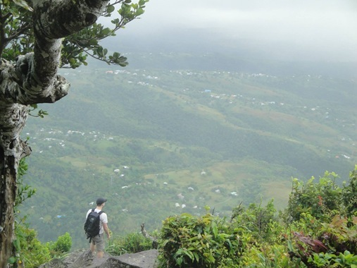 View from Gros Piton climb Soufriere St. Lucia
