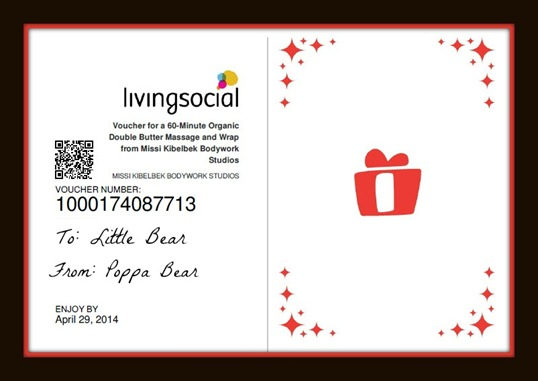 Jenna's Living Social Gift Voucher Made in PicMonkey