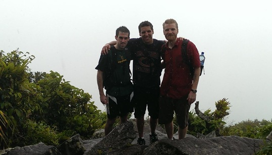 Kev Z Colt Piton Climb Soufriere St. Lucia
