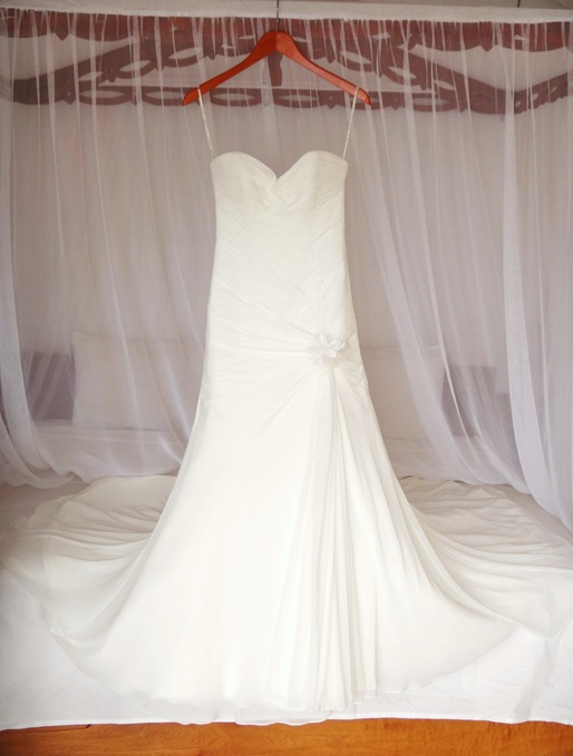 K wedding dress