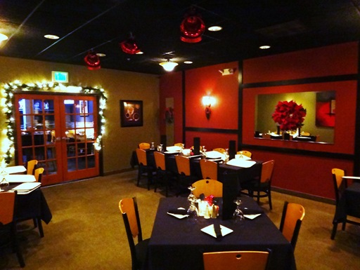 The Artful Gourtmet Rear Dining Room