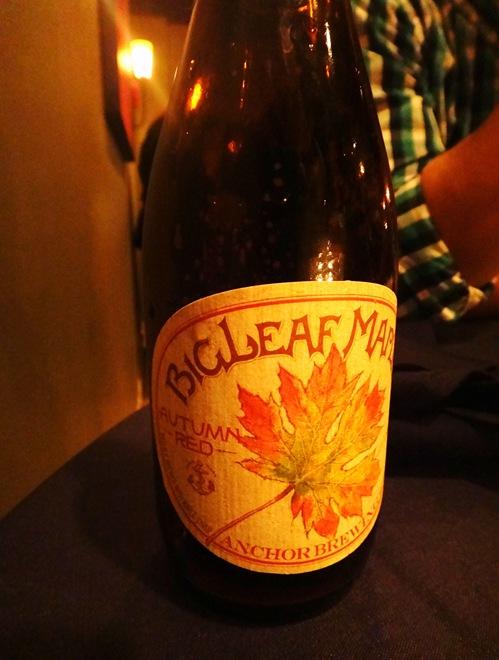 Big Leaf Maple Autumn Red Beer