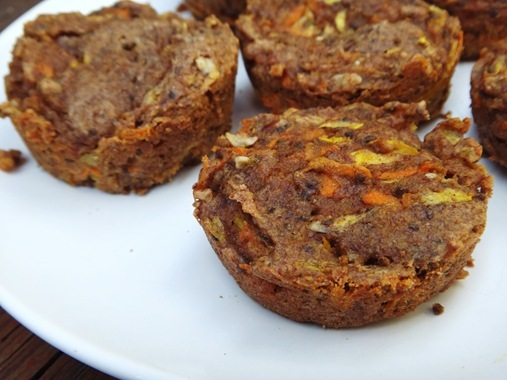 Zucchini-Carrot Muffin | The Adventures of Z and K