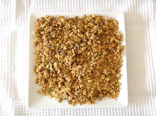 Homemade Oat and Millet Granola