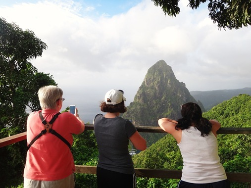 Piton view St. Lucia