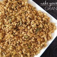 Make It Healthy, Make Your Own: Granola