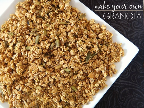 Make Your Own Granola | The Adventures of Z and K