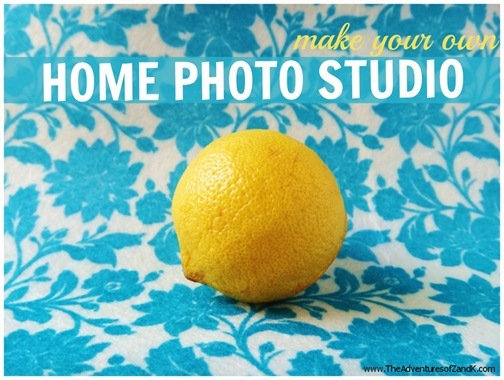 Make Your Own Home Photo Studio  The Adventures of Z & K