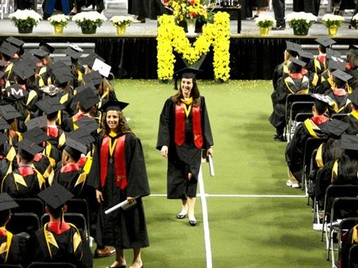 K graduating from University of Maryland