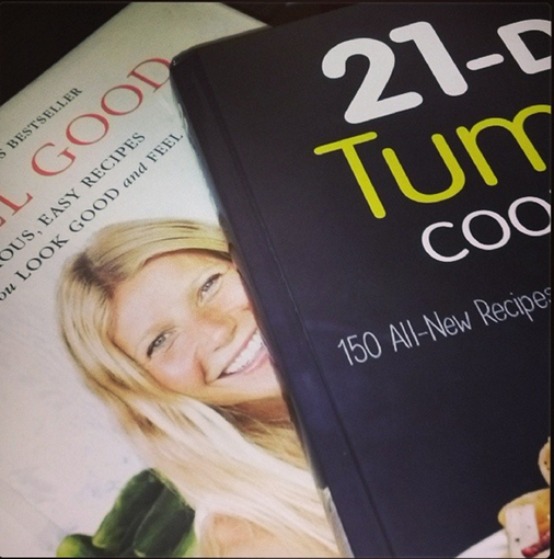 It's All Good and 21 Day Tummy cookbooks