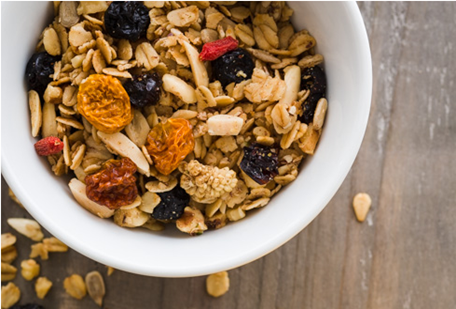 Roasted Maple Granola from A Food Centric Life