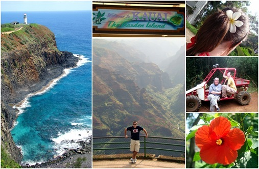 Kaui Hawaii Collage