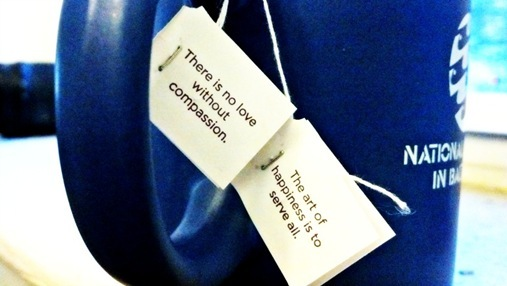 Yogi Tea Quote- Compassion
