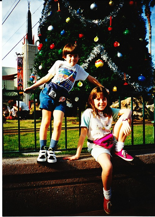 Kevin and Me at Disney 1993