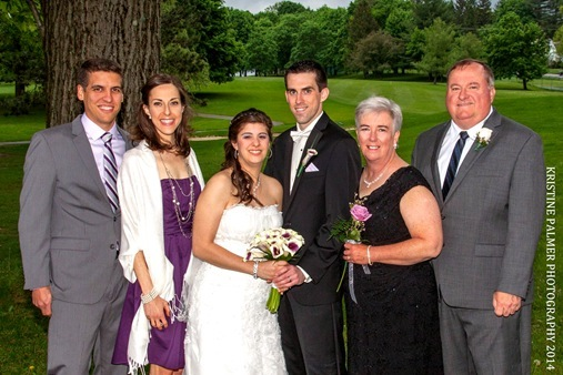 Family photo from Kevin and Victorias Wedding Christos, Poughkeepsie, NY