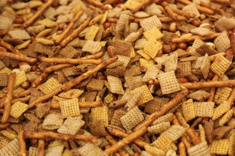 Homemade Chex Mix via Near to Nothing Blog