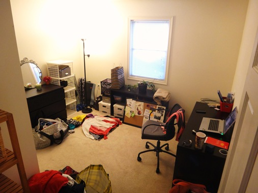 K's office mid-move