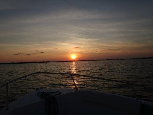 Sunset in Johns Pass Florida