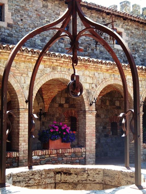 Well at Castello di Amorosa, Napa, CA