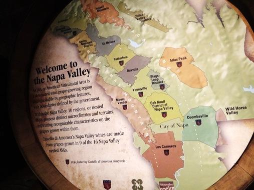 Wine regions of Napa Valley, CA
