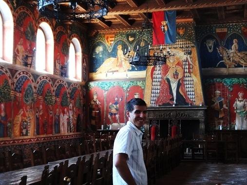 Great Hall at Castello di Amorosa, Napa, CA