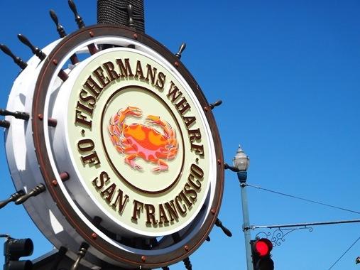 Fisherman's Wharf Sign San Francisco