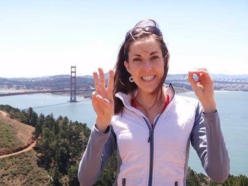 K's 30th birthday in San Francisco Golden Gate Bridge