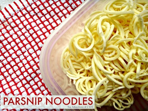 Parsnip Noodles - The Adventures of Z & K